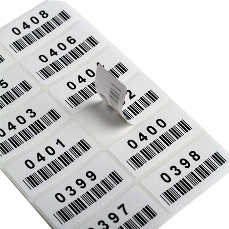 厂家直销流水码不干胶贴纸电子五金玩具产品用条码不干胶标签