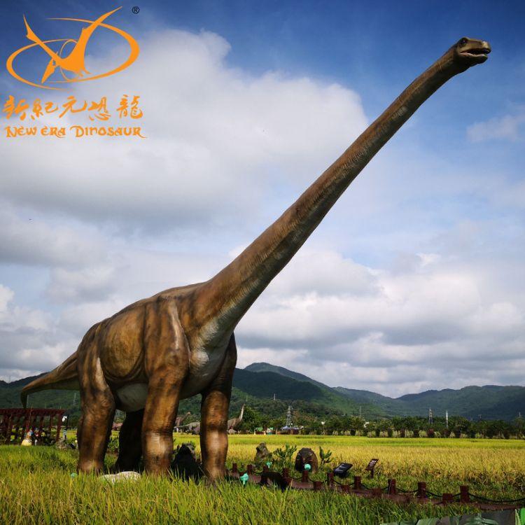 大型仿真恐龙模型户外硅胶防水摆件恐龙谷博物馆大型商场摆件定制