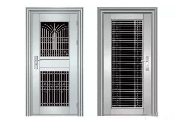 复合式防盗门 豪创门窗 定制304不锈钢防盗门 家用入户复合门 甲级安全门房间单开门