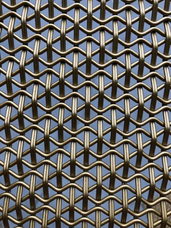 人字形金属网带生产厂家 订购金属输送带