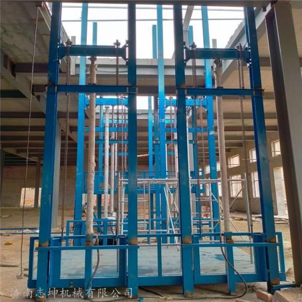 导轨式升降货梯 导轨式升降货梯 工人上门安装 志昆机械
