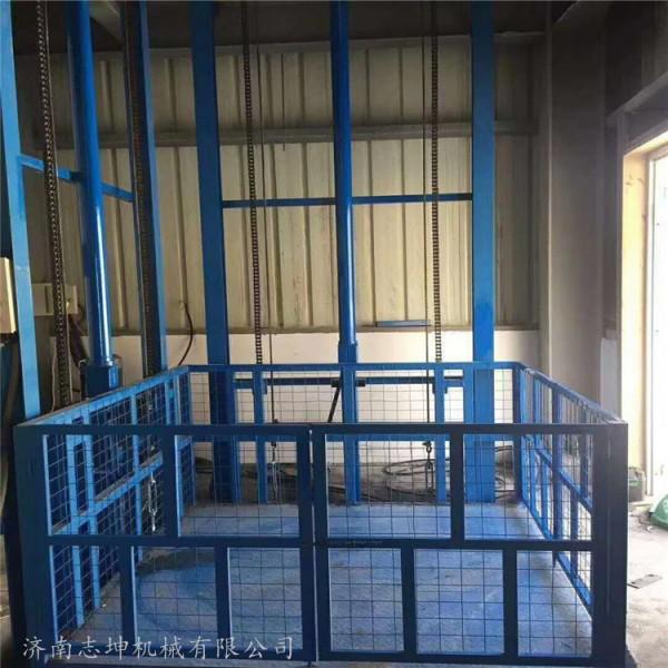 车间升降机 导轨升降机货梯厂家 安装服务 志昆机械